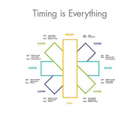 timing is everything lighting chart  sc 1 st  USAI Lighting & Tunable White LED Lights Color Changing LED Lights | USAI azcodes.com