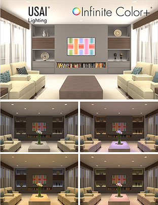 Color Changing Led Recessed Lights For Architectural
