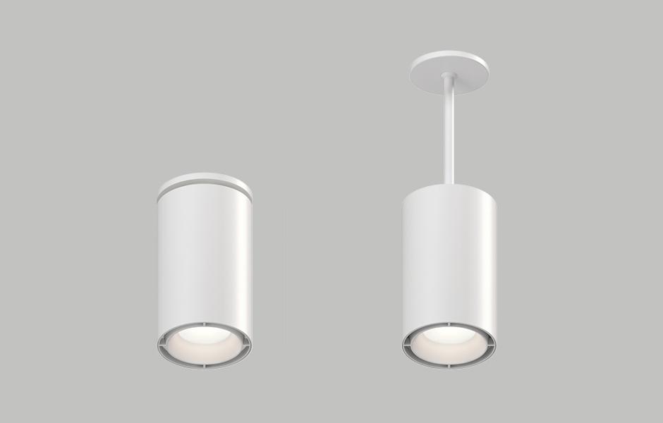 Beveled 2 1 Cylinder Downlight Pendant Lighting Usai