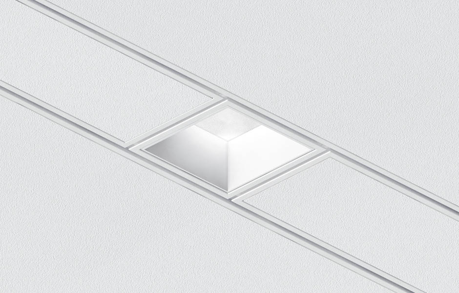 Beveled Connect Led Light Fixtures For Armstrong Techzone